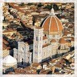 Il complesso del Duomo di Firenze: veduta dall'alto