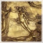 Porta del Paradiso, scene del Vecchio Testamento La storia di Adamo ed Eva