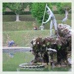 Il bacino di Nettuno giardino di boboli