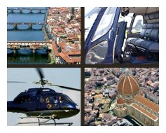 Florence en hélicoptère