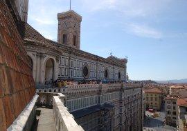 Viste da una prospettiva inedita: dalle Terrazze del Duomo di Firenze.
