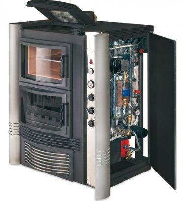 Termocucina legna circuito chiuso con forno for Termostufa a legna usata