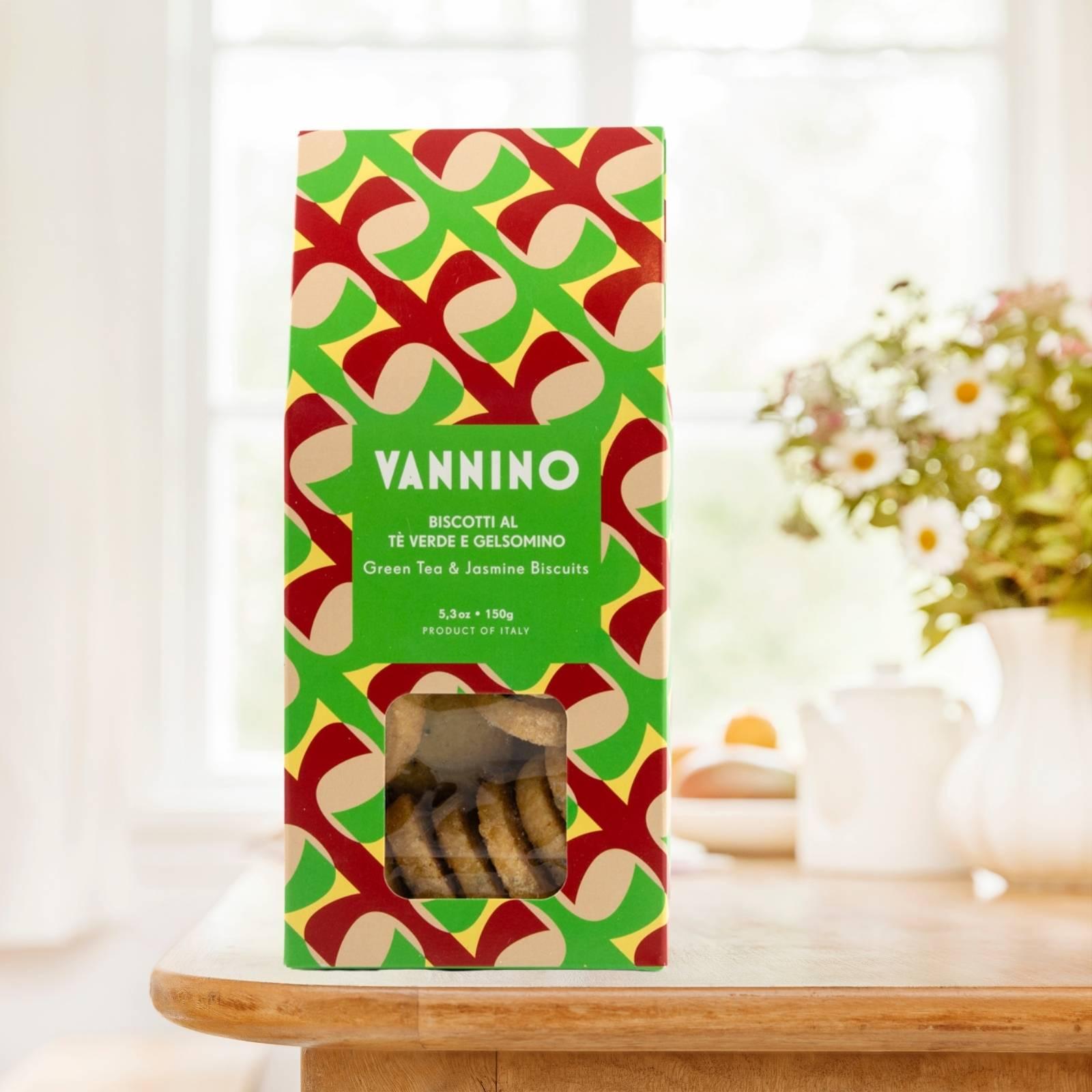 Biscotteria Vannino Biscotti al tè verde e gelsomino