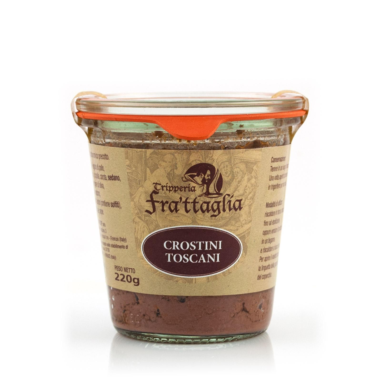 Tripperia Frattaglia Crostino Toscano